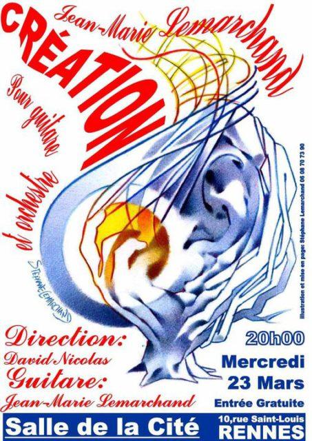 Emergences (concerto pour guitare et orchestre)